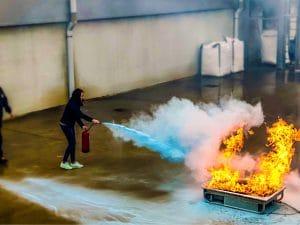 Emergency Team Training Fire