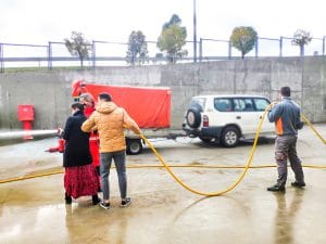 Emergency Team Training Water